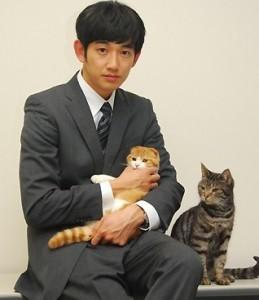瑛太 猫好き