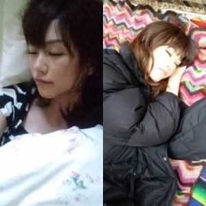 桐谷美玲 寝顔