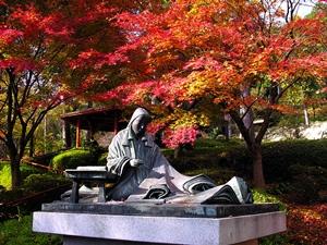 滋賀県 紅葉スポット 石山寺