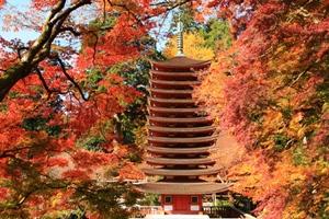 紅葉スポット 談山神社