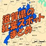 滋賀県 紅葉スポット