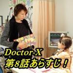 ドクターX 第8話