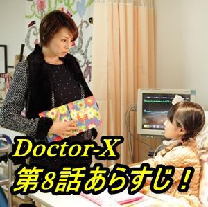 【ドクターX3大門未知子】第8話!あらすじとネタバレ!視聴率は?