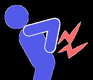 便秘が原因の腰痛
