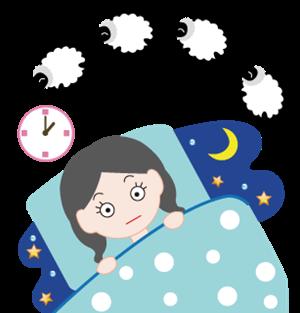 便秘が原因の不眠