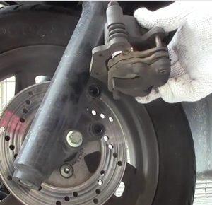 アドレスV125 ブレーキ 整備